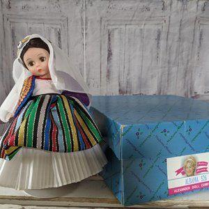Madame Alexander Albania 526 doll
